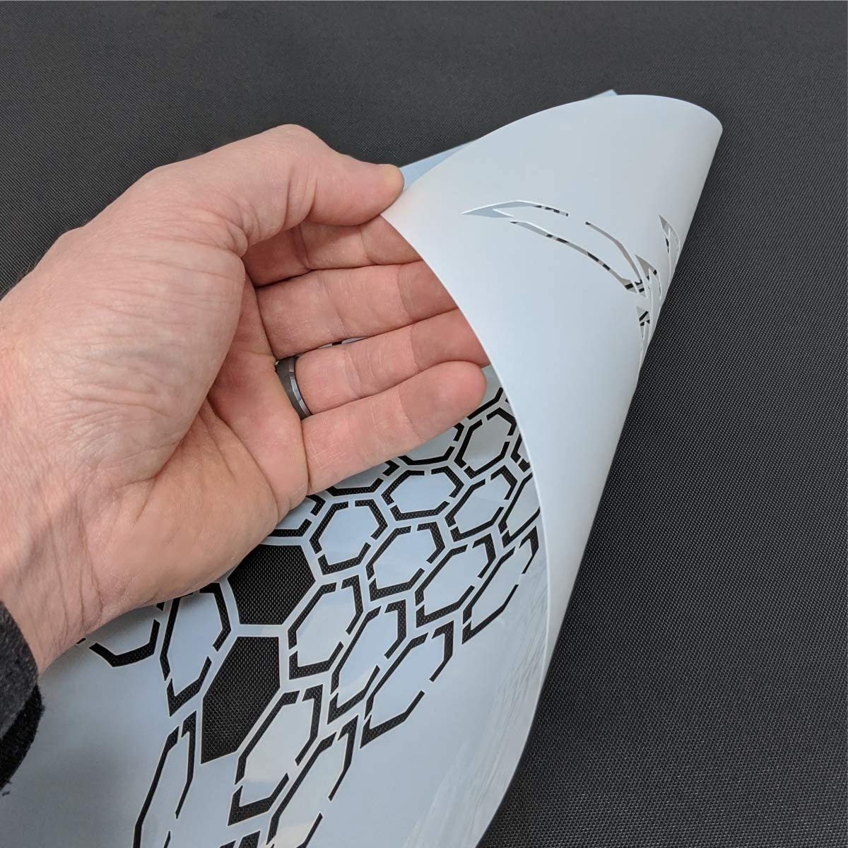 Redleg Camo 12 HEX 3 Piece Camo Stencil Kit