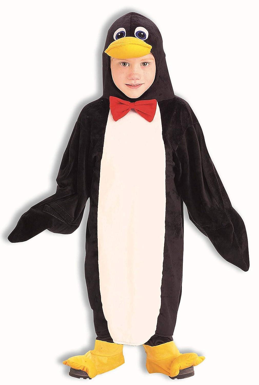 Penguin Child Unisex Costume Animal Black White Halloween Rasta Imposta
