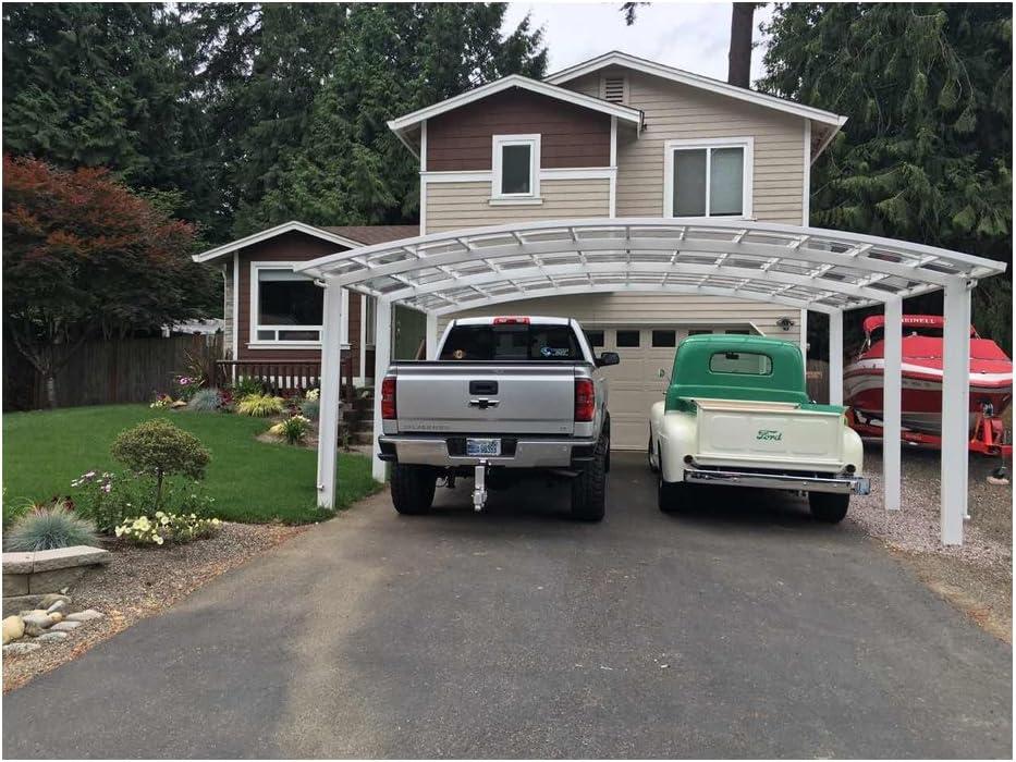 Aleación de aluminio durable y hermoso cochera, canopy, coche refugio, garaje: Amazon.es: Jardín