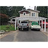 Aluminum alloy durable and beautiful carport , canopy , car shelter , garage