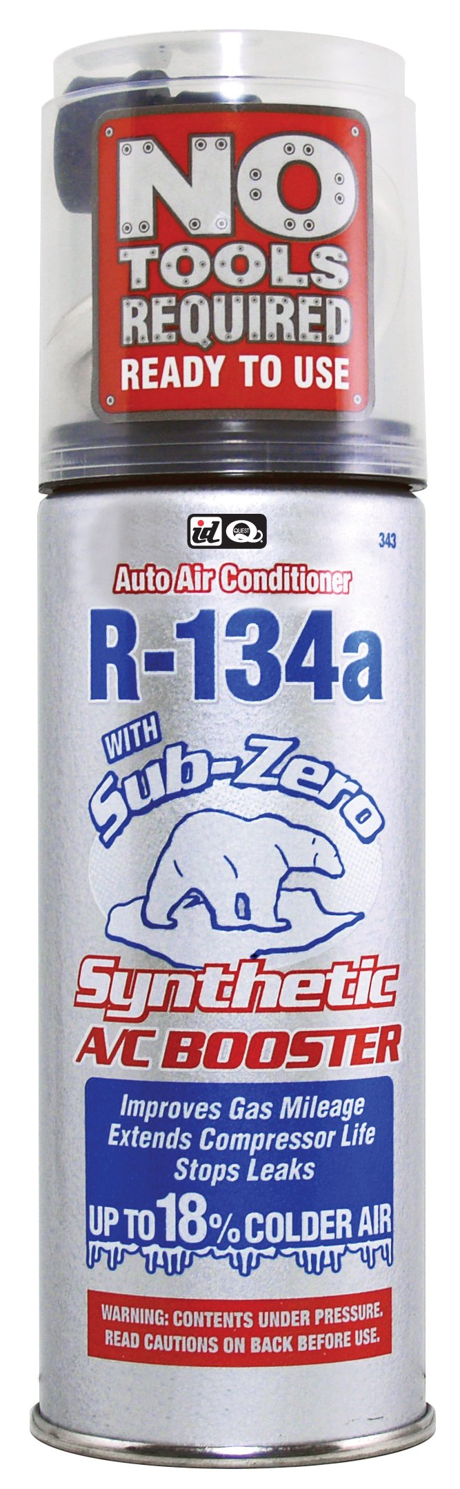 Interdynamics Sub-Zero Synthetic Refrigerant R-134a (14 ounces), 343 by Interdynamics