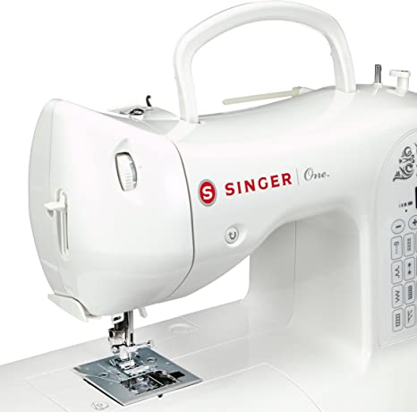 Singer One Máquina de Coser, Color Blanco: Amazon.es: Hogar