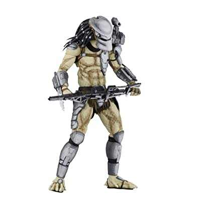 "NECA - Alien vs Predator (Arcade Appearance) - 7"" Scale Action Figure - Warrior Predator: Toys & Games"