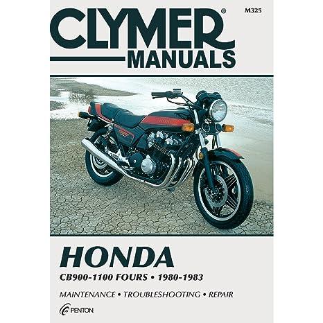 amazon com clymer honda in line fours cb900 1100 manual m325 rh amazon com 1981 honda cb900f service manual pdf honda cb900f service manual