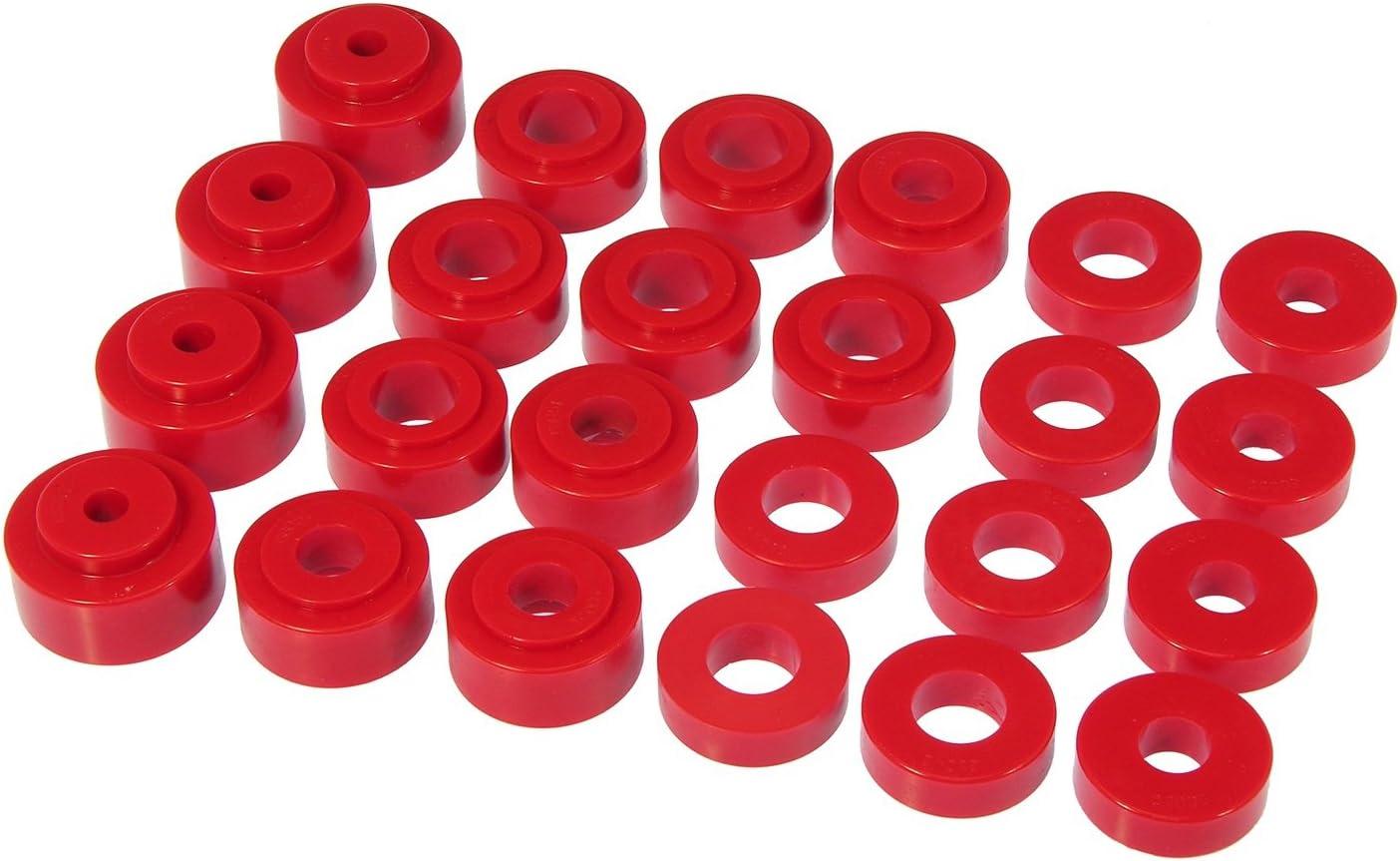 Prothane 7-125 Red Body Mount Kit