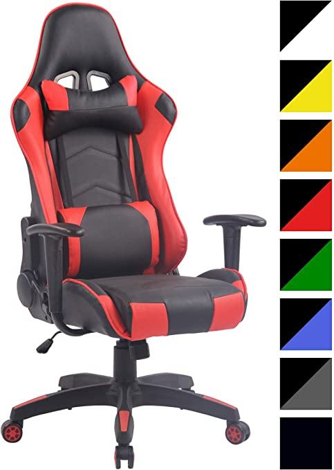 CLP Silla Racing Miracle V2 en Cuero PU I Silla Gaming Regulable ...