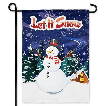 Merveilleux Harbor Bay Home Winter Garden Flag Let It Snow U2013 Double Sided Printing U2013  12.5 X