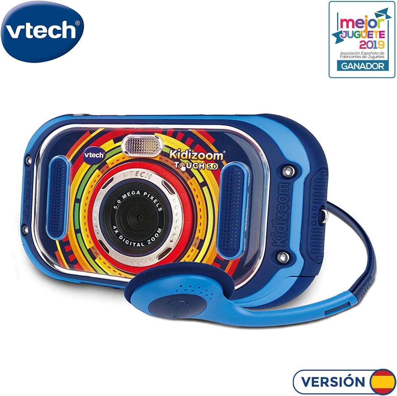 Amazon.es: VTech Kidizoom Touch 5.0 Cámara de fotos digital ...