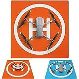 SYMIK LP500E Drone Landing Pad (2x3 fold) Double-Sided Waterproof 20 inch (50cm) Fast-Fold Helipad, Compatible w/DJI Mavic Mi