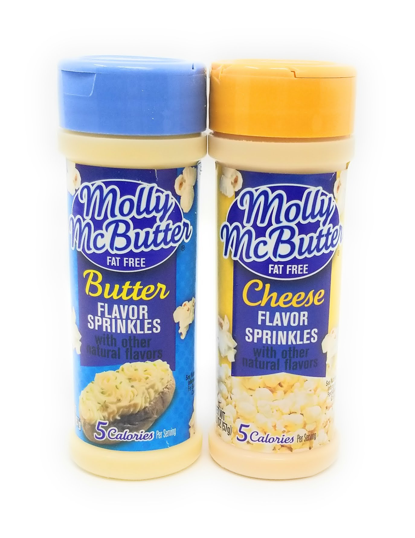 Molly Mcbutter Sprinkles Orignal Natural Butter and Cheese, 2.0-ounce