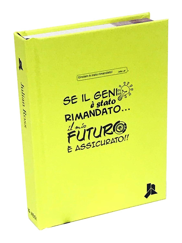 Giallo Diario Agenda 16 Mesi Oval Tombolino Julian Ross Kit 4 Pezzi Zaino 40cm