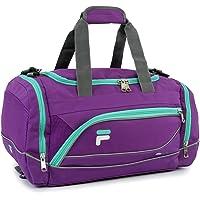 Fila Sprinter - bolsa deportiva (48,26 cm), Púrpura/verde azulado, Una talla