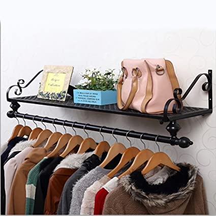 Amazon.com: coat rack Wrought iron coat rack wall mounted ...