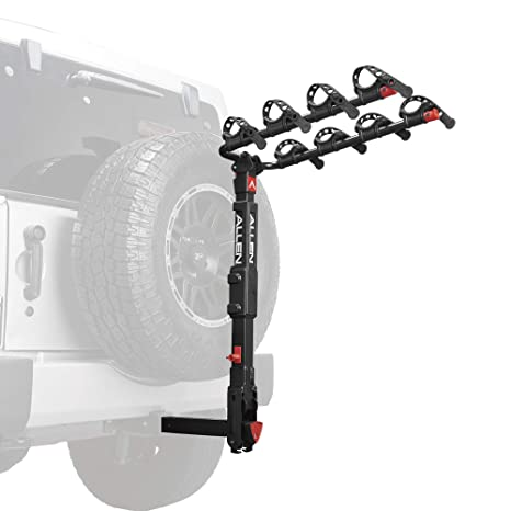 Deluxe 2-Bike Hitch Mount Rack Ideal For Road Trips And Camping Excursions