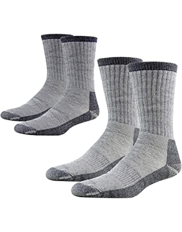 Work Vintage Cushioned Crew Socks for Adult Youth Teen Trekking Basketball
