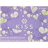 Kiss Lenço Facial Folha Dupla Branca, 100 Lenços, Embalagens Sortidas