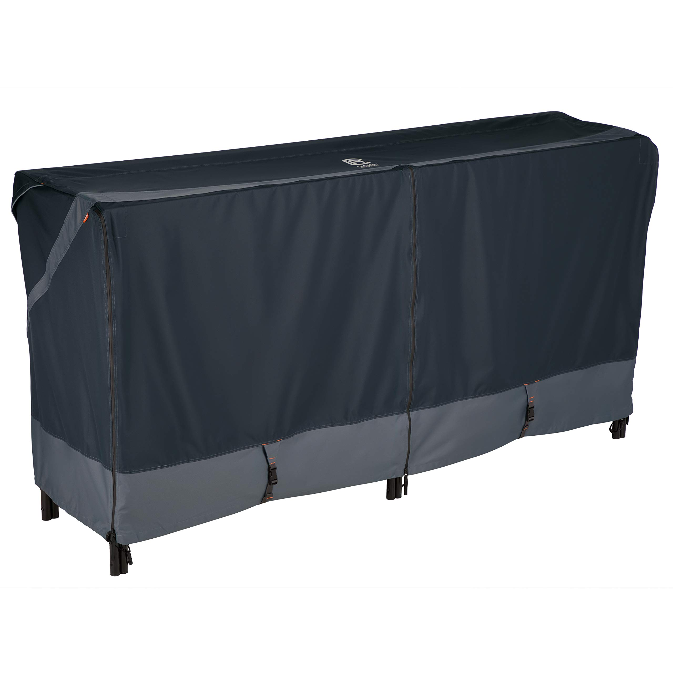 Classic Accessories StormPro RainProof Heavy Duty Log Rack Cover, Large by Classic Accessories