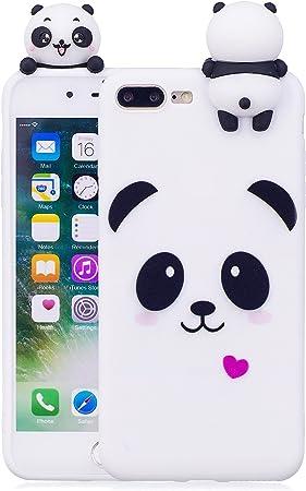 Custodia per iPhone 7 Plus 8 Plus Opaca Animali Girlyard Colorata