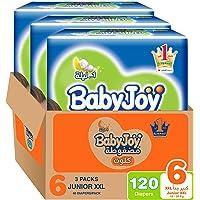 BabyJoy Culotte, Size 6, Junior XXL, 16+ kg, Mega Box, 120 Diaper Pants
