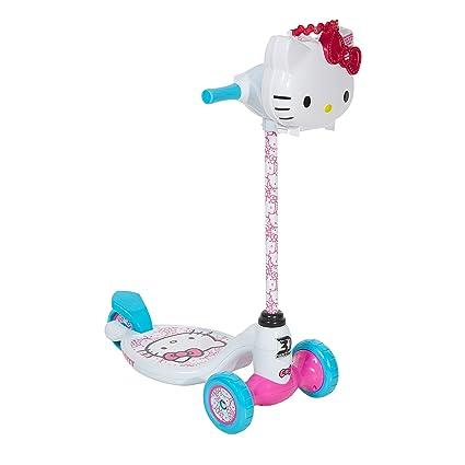 Amazon.com: Hello Kitty Dynacraft 3 Wheeled Scooter, 5 ...