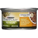 Purina Pro Plan True Nature Natual Grain Free Formulas Canned Cat Food