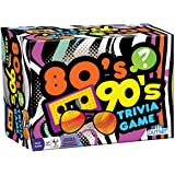 Outset Media - 80's 90's Trivia - Includes 220 Cards with Over 1200 Fun Questions and Answers - Ages 12+