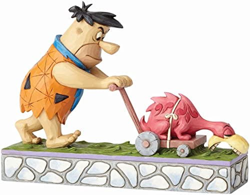 Enesco, Hanna Barbera by Jim Shore Fred Mowing The Lawn