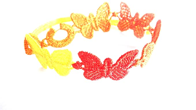 best sneakers a4caf 9af2a Cruciani Multi Color Butterfly Bracelets - Orange at Amazon ...