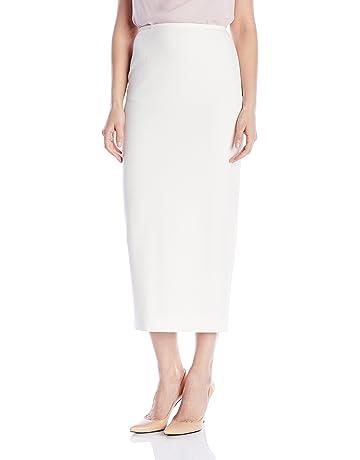 94aa3b5b34 Kasper Women's Stretch Crepe Column Skirt