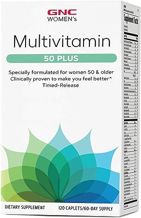 GNC Women's Multivitamin 50 Plus