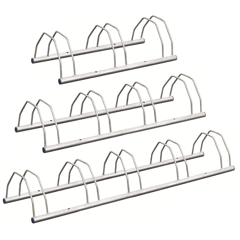 Hardcastle Floor/Wall Mount Bike Stand - Choice of Sizes - Cycle Storage Rack
