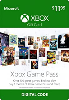 Amazon 10 xbox gift card digital code video games 12 xbox game pass gift card xbox one digital code fandeluxe Images