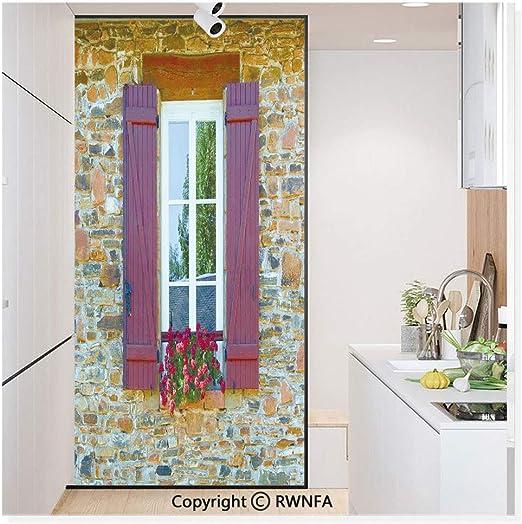 Película de vidrio sin pegamento para ventana, adhesivo de papel estático para privacidad, decoración de puerta