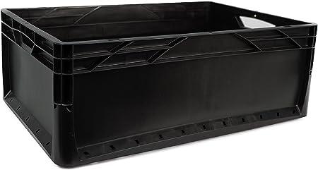 4 x 46 L Euronorm Eco Industrial Plástico Apilables Euro cajas de ...
