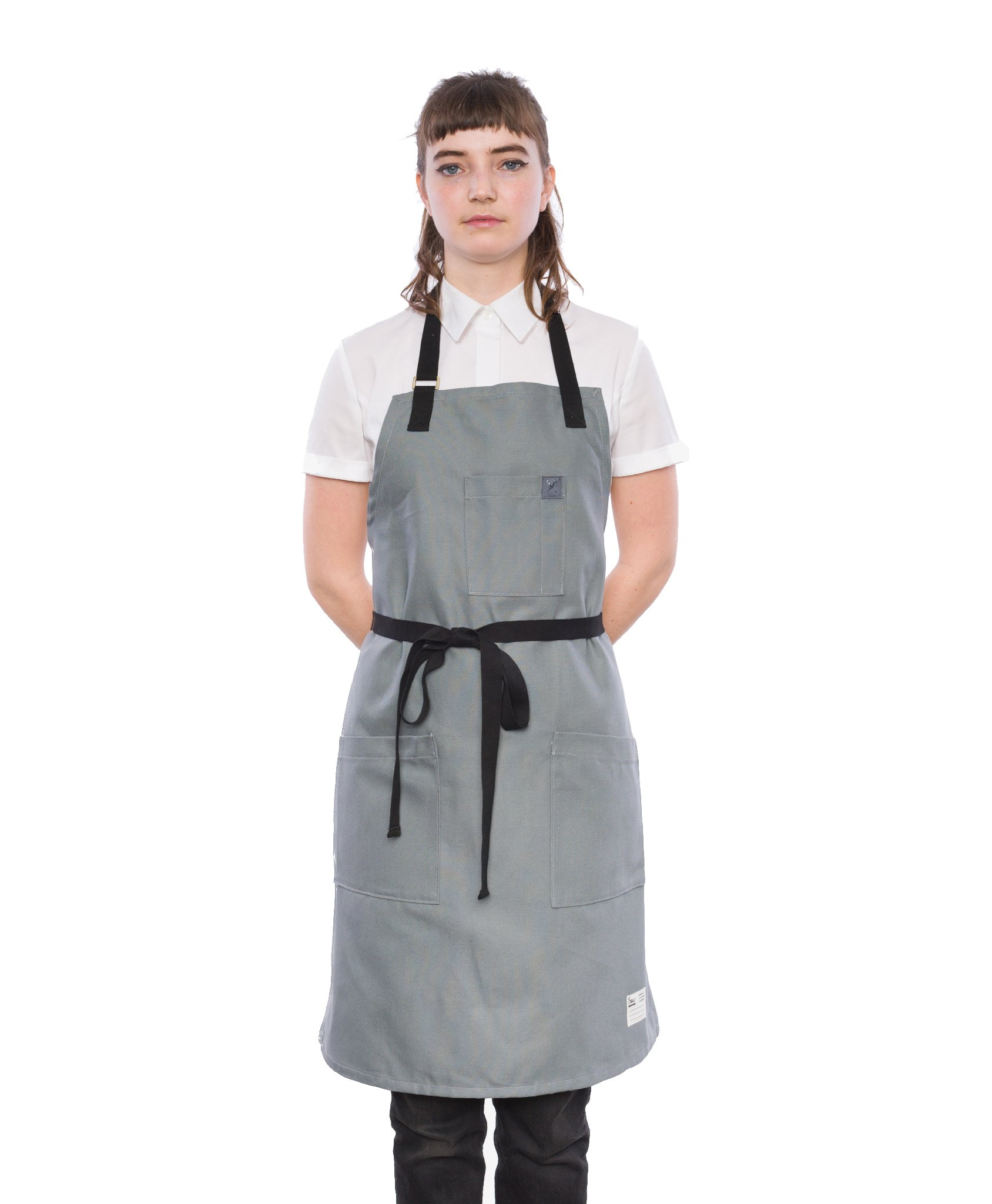 Crew Apparel Overcast Sky Japanese Canvas Standard Apron Made in USA