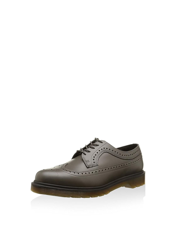 Scarpe basse unisex, sneakers Dr Martens, modello 3989 VEGAN, colore grigio, tomaia in ecopelle. Grigio