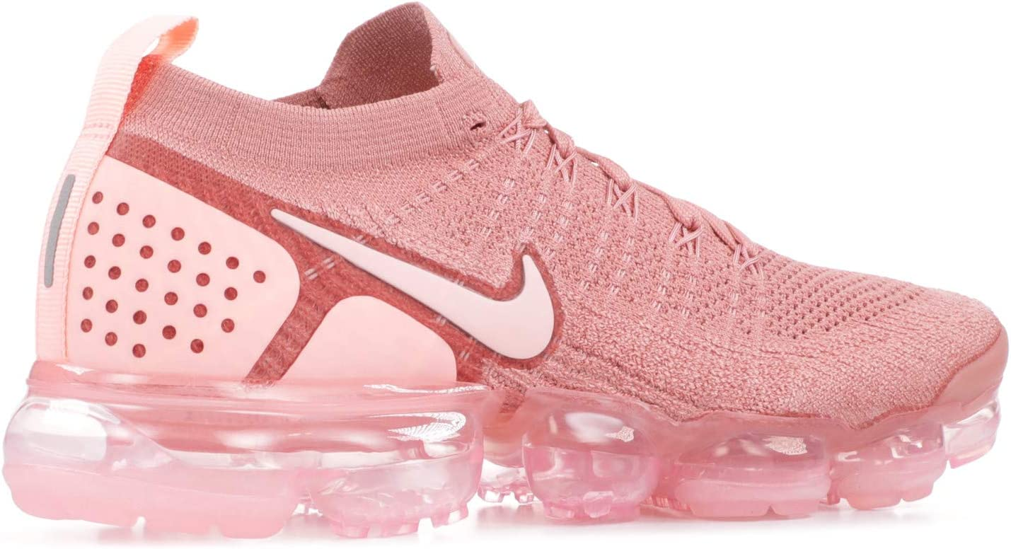 Nike Dames W Air Vapormax Flyknit 2 Competitie Hardloopschoenen Multicolore (Rust Pink/Storm Pink/Pink Tint)