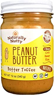 product image for Naturally Nutty, Peanut Butter Butter Toffee, 12 Ounce