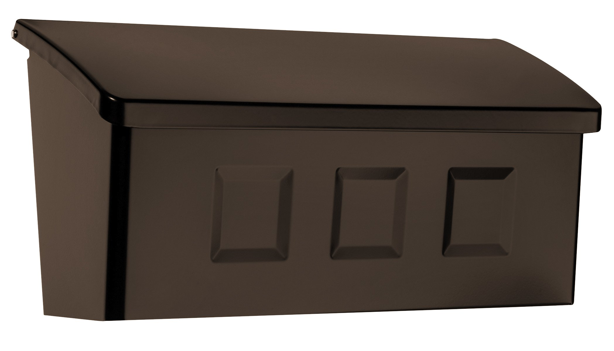 Architectural Mailboxes 2689RZ Wayland Wall Mount, Small, Rubbed Bronze
