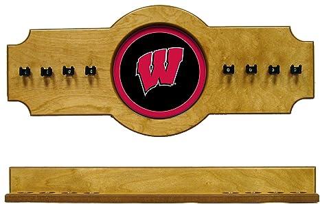 WAVE NCAA Wisconsin tejones uwicrr100-o 2 PC Taco de Billar Palo ...