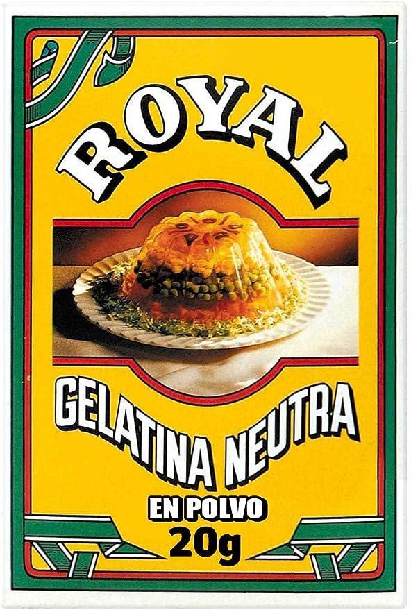 Royal Gelatina Neutra en Polvo para Elaboraciones Caseras ...