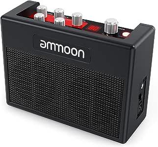 ammoon Amplificador de Guitarra Portátil POCKAMP Amplificador de 5 ...