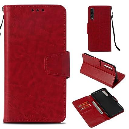 Amazon.com: Bangcool Huawei P20 Pro - Funda tipo cartera ...