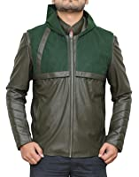 Arrow Hoodie Leather Costume Jackets - Available in 4 Designs