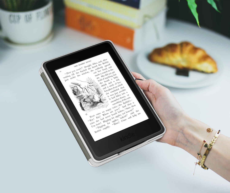 Ultra Slim Ligera Smart Shell Case Cover con Auto Estela // Sue/ño para  All-New Kindle Paperwhite Ambos 2012, 2013, 2015 y 2016 Versi/óns No es compatible para All-new Paperwhite 10th generation 2018 Morado MoKo Kindle Paperwhite Funda