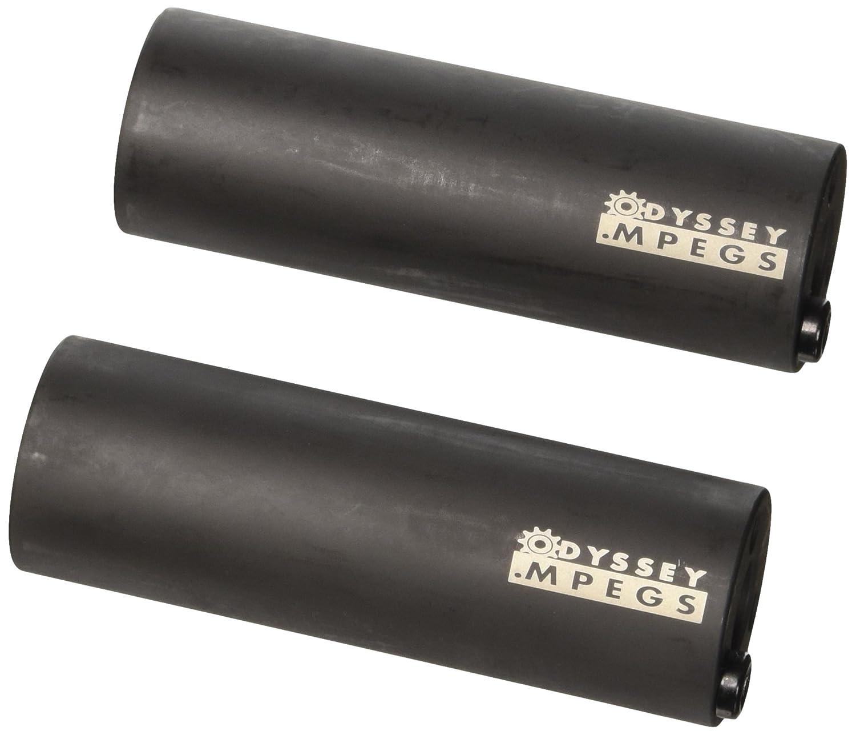 O.I.D. ODI Axlepegs Odyssey MPEGS 4 Zoll - Buje para bicicletas, color negro, talla DE: 14 mm 97696