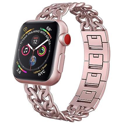 Amazon.com: NO1Seller Top Correa Compatible con Apple Watch ...