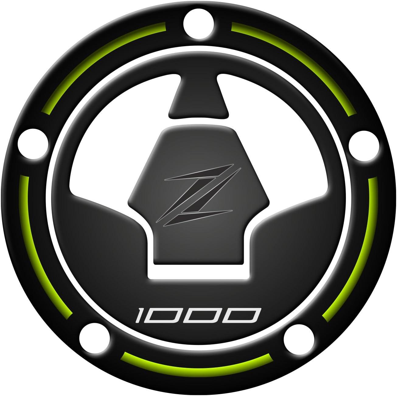 PARA Zip rot Fuel Cap Protector Schutz St/öpsel Benzin geharzt 3d f/ür Motorr/äder Kawasaki Z1000/2010/ /2017/gp-396/