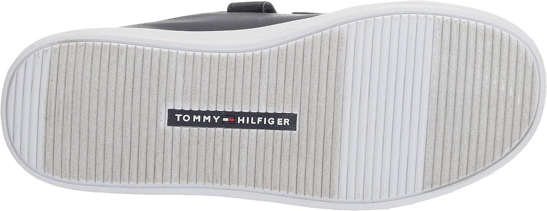10.5 Medium US Little Navy Tommy Hilfiger Unisex Kids Iconic Court Alt Sneaker