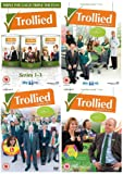 Trollied Complete Series 1 - 6 DVD Collection : BAFTA® and Golden Globe® nominee Jane Horrocks (Absolutely Fabulous, Little Voice) and Mark Addy (Game of Thrones, Atlantis) and from the producers of The IT Crowd and The Office, comes Trollied